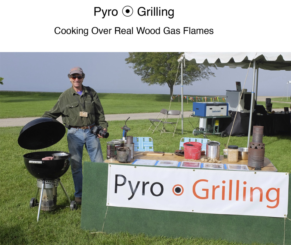 Pyro-grilling